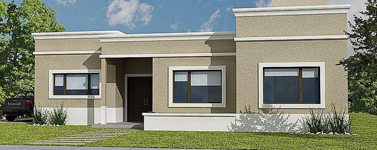 Fachadas de casas con molduras buscar con google for Exterior de casas
