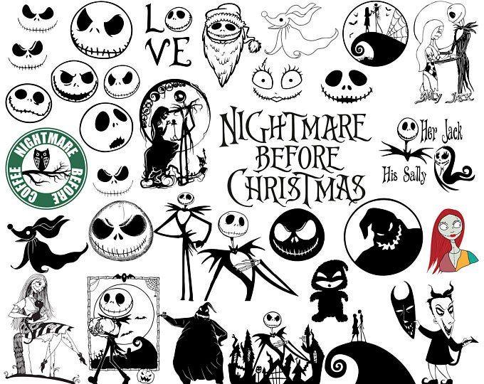 Nightmare before christmas svg, Christmas svg, Nightmare
