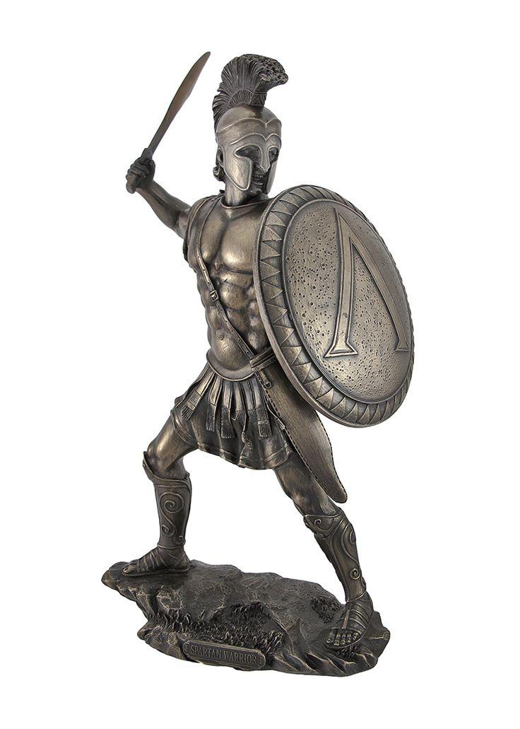 Spartan Warrior Statue   Spartan Equipment   trojan ...