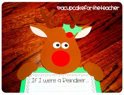 A Cupcake for the Teacher: Reindeer Games {Craftivity & Printables}