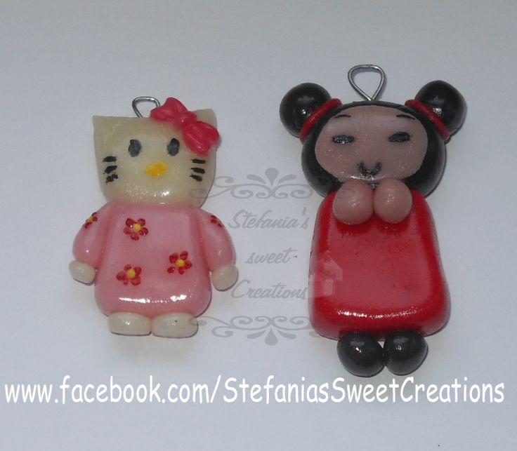 ciondoli Hello Kitty e Pucca