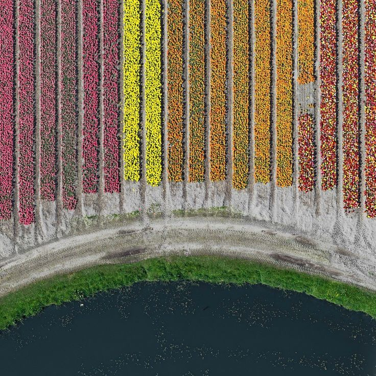 This stunning aerial photography series has been shot by Bernhard Lang. Captured…                                                                                                                                                                                 More