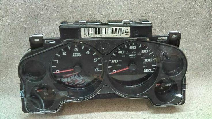 Speedometer Instrument Cluster 25799983 Fits 07 10 Gmc Sierra Pickup Truck O102 Gmc Pickup Trucks Gmc Sierra Vehicle Gauge