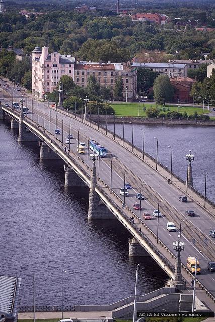 Stone Bridge, Riga.