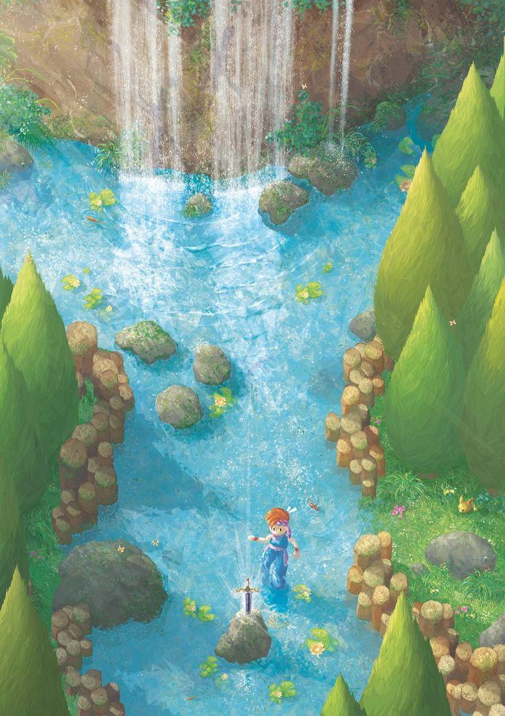 Dawn of Adventure : Holy Sword by Orioto.deviantart.com on @DeviantArt - Secret of Mana