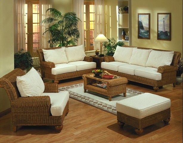 1000 images about wicker furniture on pinterest dining Comfortable sunroom furniture