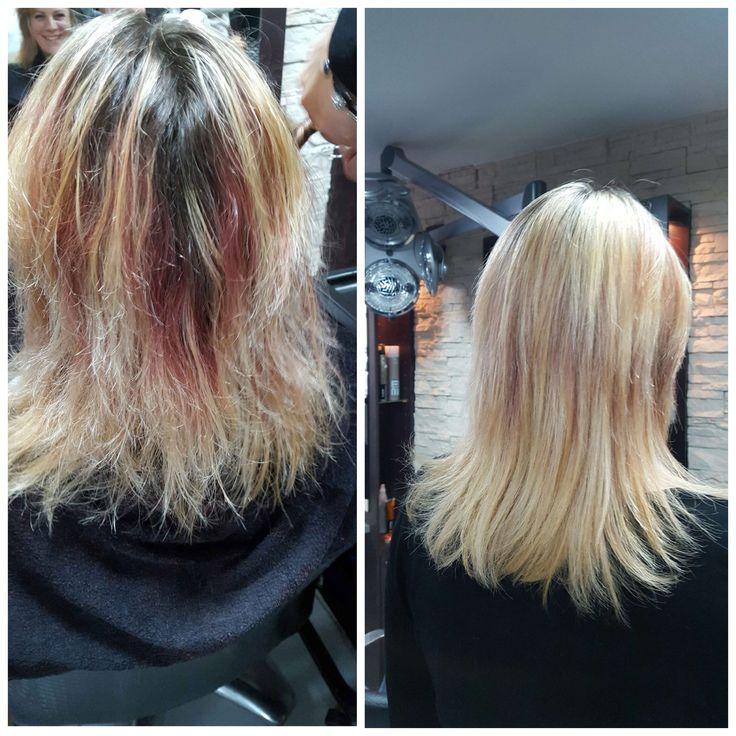 17 mejores im genes sobre avant apr s en pinterest pinturas pelo y balayage - Balayage cheveux avant apres ...