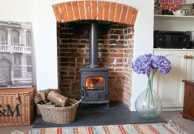 A step-by-step guide to installing a woodburning stove, as demonstrated by AGA stoves