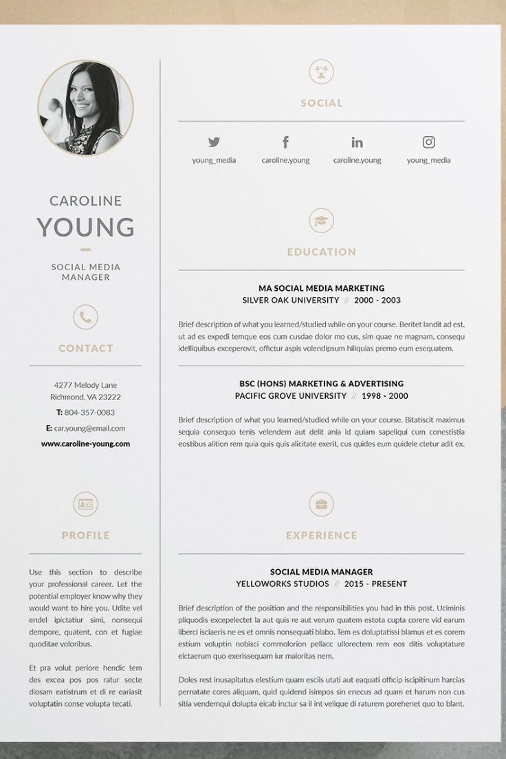 Professional Cv Resume Template Welcome To Keke Resume Boutique Our Models Boutique Models Profe Resume Design Template Cv Template Word Cv Template