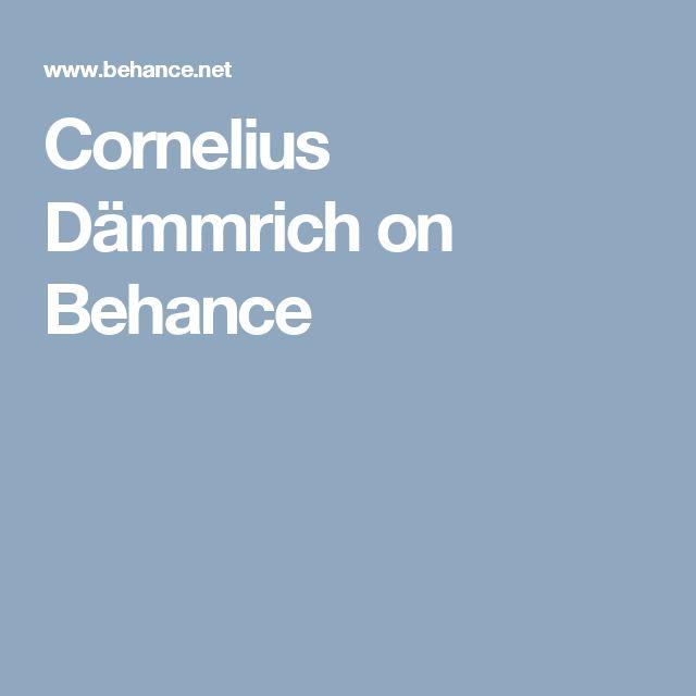 Cornelius Dämmrich on Behance