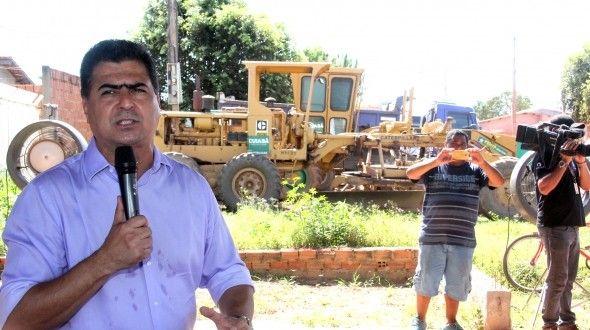 Prefeitura lança programa de manutenção e conservação de vias vicinais da zona rural