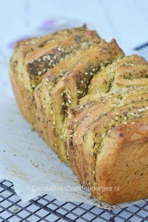 Pull apart brood met za'atar