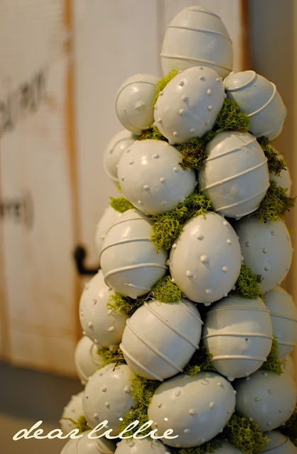 .: Makov Projects, Eggs Topiaries, Eggs Makov, Easter Trees, Dear Lilly, Easter Eggs, Clever Ideas, Eggs Trees, Big Sales