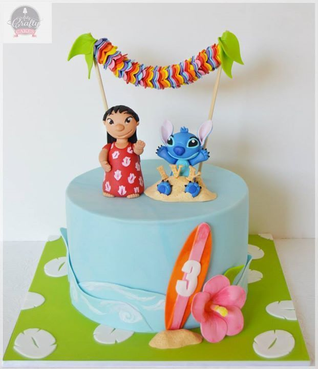 cake  lilo and stitch