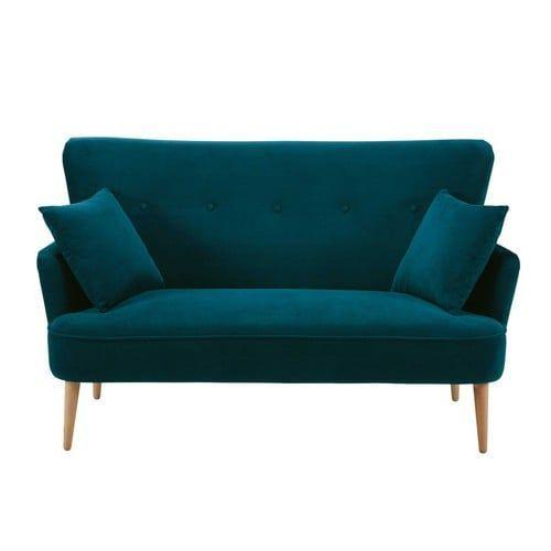 17 migliori idee su divano di velluto su pinterest - Divano verde petrolio ...