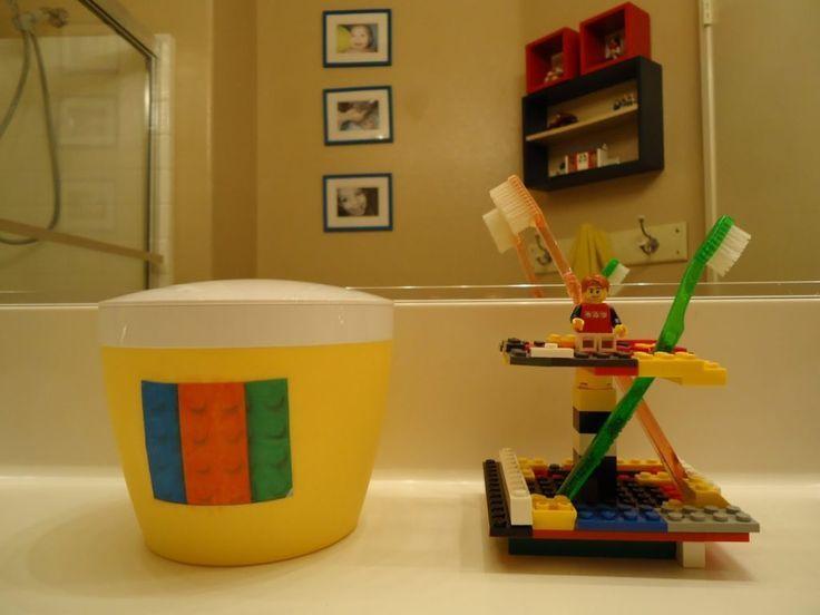Lego Themed Bathroom
