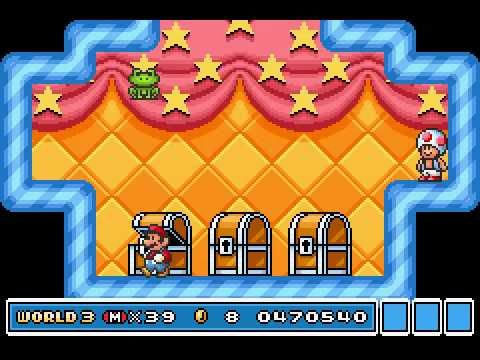 Super mario bros 3 / Super mario advance 4 ( GBA ) - Full gameplay - Wal...