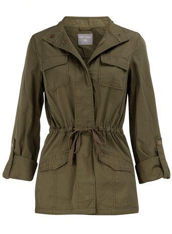 Khaki safari jacket        Price: $59.00