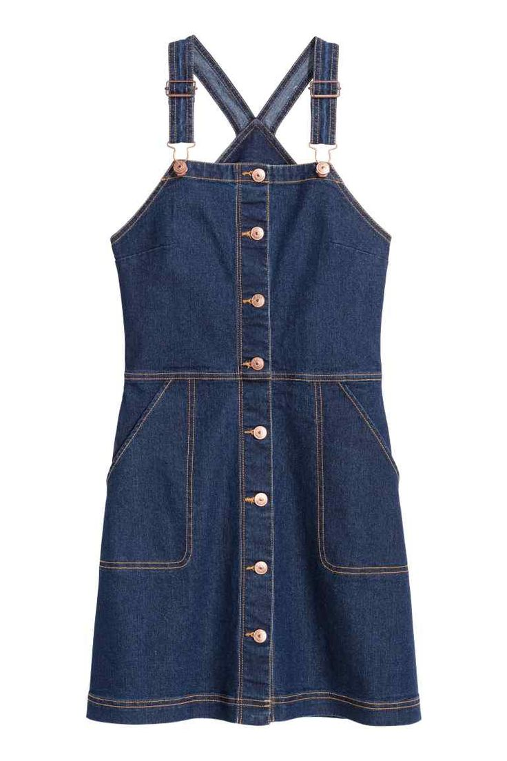 Robe salopette en denim | H&M