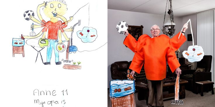 These Kids' Drawings Of Their Grandparents Are Beyond Adorable