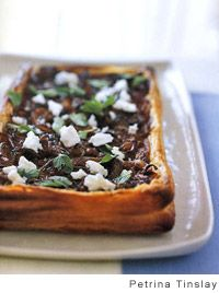 Briget's Onion and Feta Cheese Tart by Bill Granger