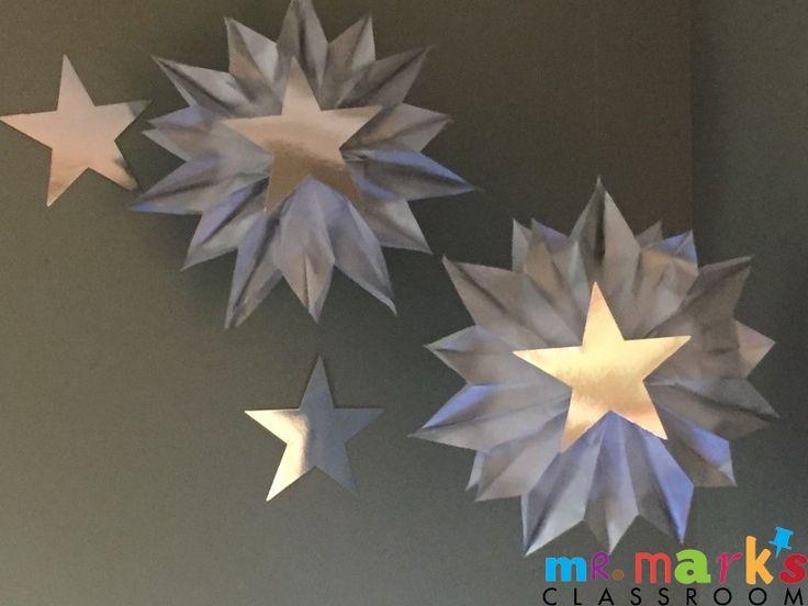 paper bag star space craftsvbs