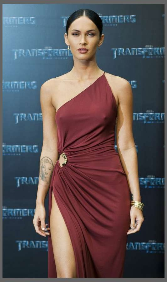 Unbelievably High Slits - Megan Fox's Leggy Red Dress at Berlin Premiere (GALLERY)