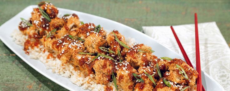 General Tso's Cauliflower DAPHNE OZ - The Chew Enjoy the flavors of General Tso's - but on healthy cauliflower!