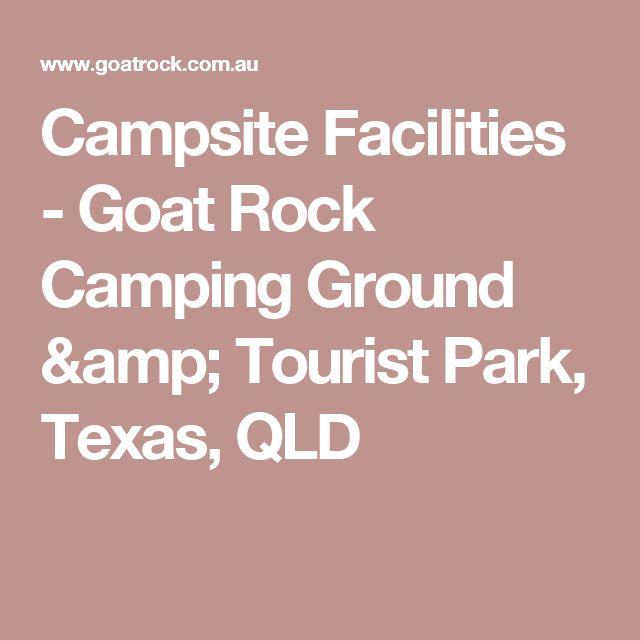 Campsite Facilities - Goat Rock Camping Ground & Tourist Park, Texas, QLD