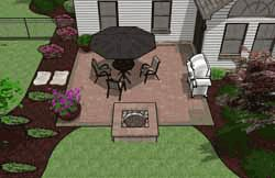 Patio Designs and Ideas with Outdoor Fireplaces or Fire Pits