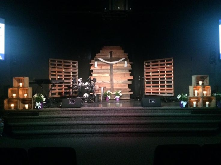 ... Stage Design Ideas. See More. Rugged Cross From Life In Christ Church  In Owosso, MI Brings Us This Cross Backdrop