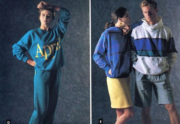 Apple's 1986 Clothing Line