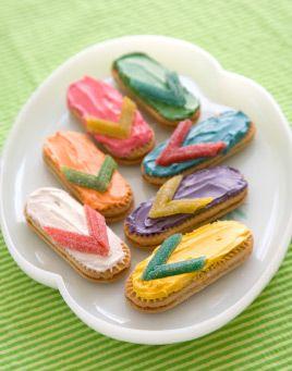 Flip-Flop Cookies