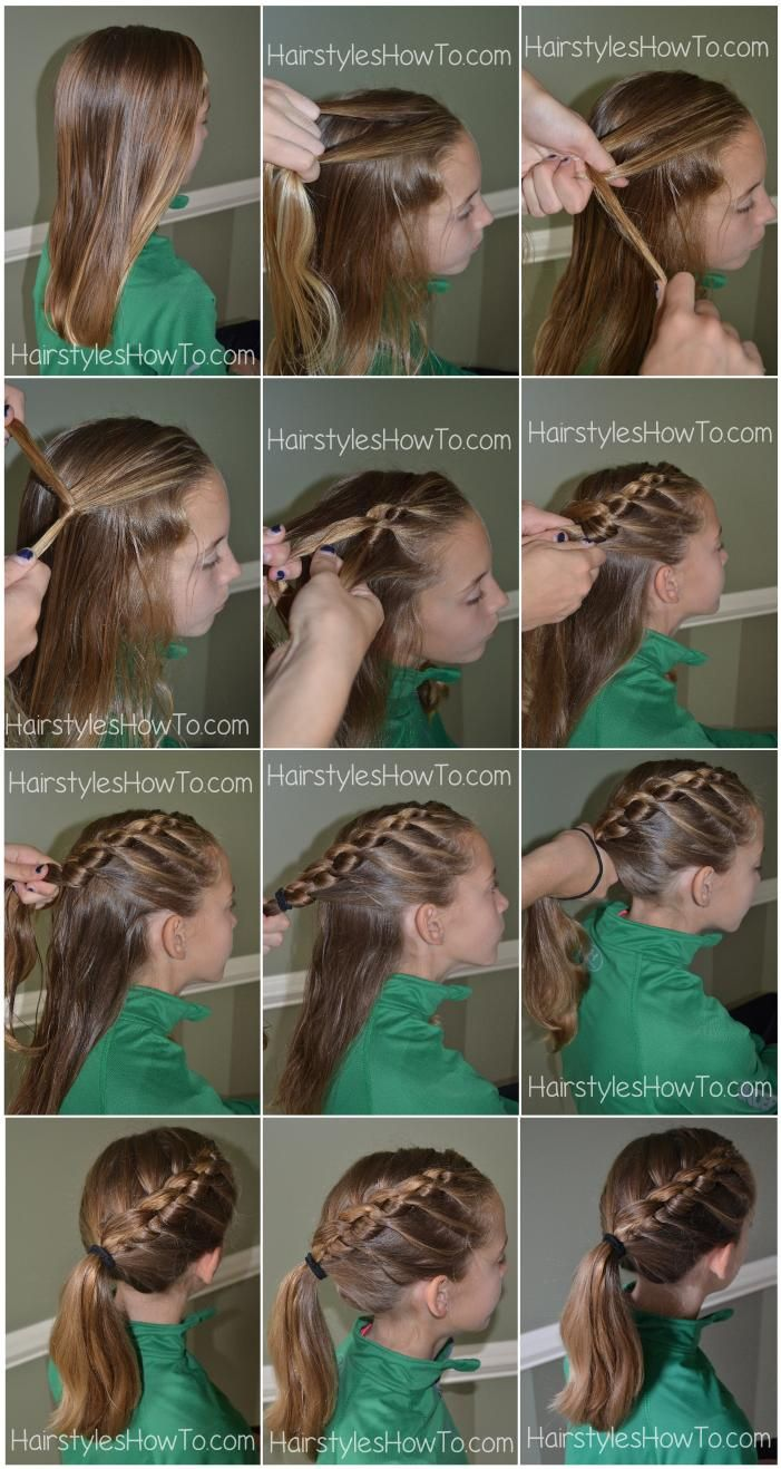 Knotted Braid into Ponytail Tutorial (Hair and Beauty Tutorials)