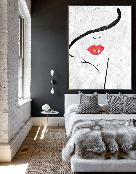 The Best Black And White Painting Ideas On Pinterest Black