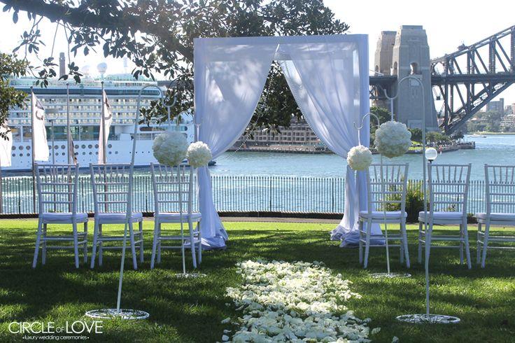 Botanic Gardens Wedding www.circleofloveweddings.com.au