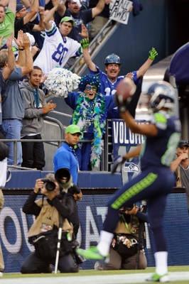 Crazy fans at NFL games