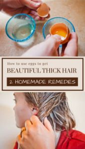 How To Use #Eggs To Get #Lovely #Thick #Hair – 2  #Selfmade #Remedi