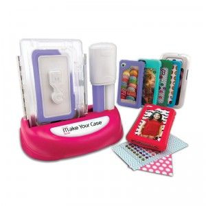 Kids can make their own silicone iPhone and iPod Touch cases with the Make Your Case iPhone & iPod Touch Case Maker.