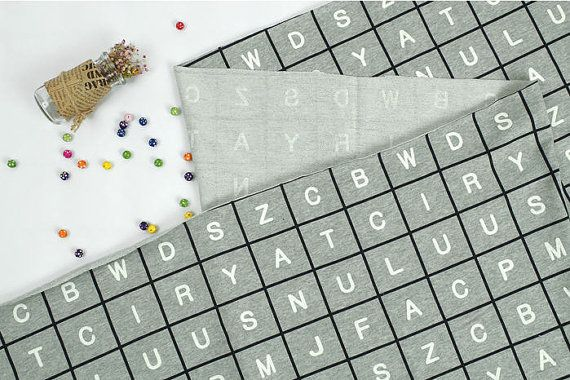 Alfabet Franse Terry Knit weefsel, grijze dambord Knit  * 100% katoen * Stof grootte: 1 werf = 170 cm breed x 90 cm lang (66 x 36 inch) * Meerdere werven zal worden gesneden in een ononderbroken stuk. * Ideaal voor hoodies, vesten, leggings, vest, t-shirts, jurken, broeken, rokken, dekens en meer  * Ribbels voor Halslijnen, zomen en manchetten: https://www.Etsy.com/Listing/504283287 (2 door 1 ribbels) https://www.Etsy.com/Listing/154880516 (1 door...