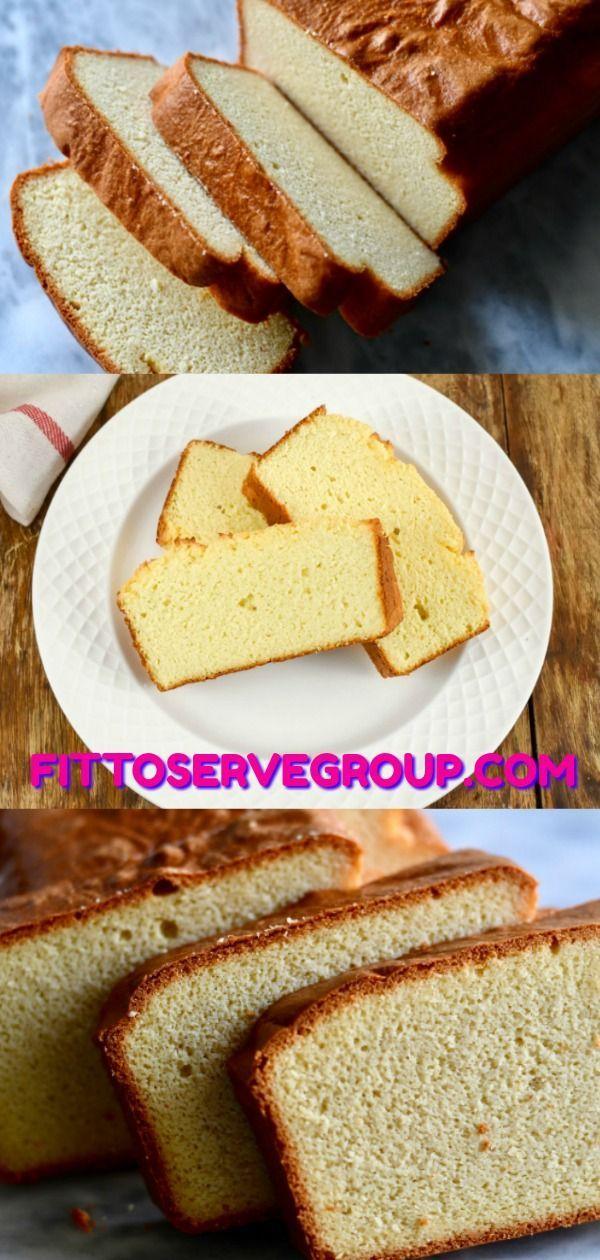 Keto Cream Cheese Coconut Flour Pound Cake-It has all the