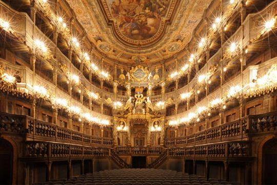 Opéra margravial de Bayreuth, Allemagne