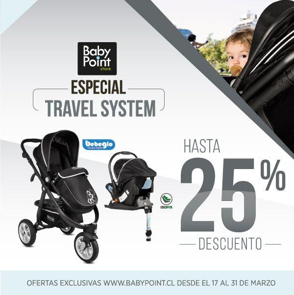 ¡Especial Coches Travel System BebeGlo con hasta 25% de descuento! Si buscas comodidad a la hora de transportar a tu bebé, acá te tenemos variedad de modelos -> bit.ly/198SQma