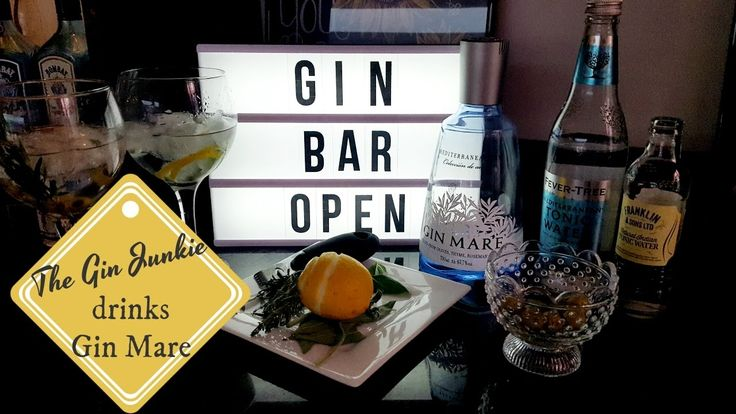 The Gin Junkie drinks Gin Mare - a beautifully refreshing Mediterranean ...
