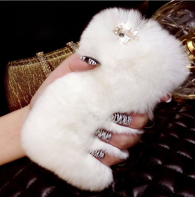Fashion Winter Warm Fluffy Hair Fuzzy Phone Case for iPhone 5 5S 6g Back Case | eBay
