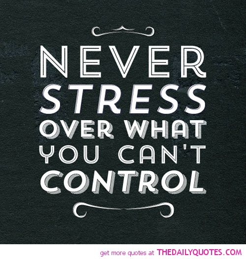 Never Stress