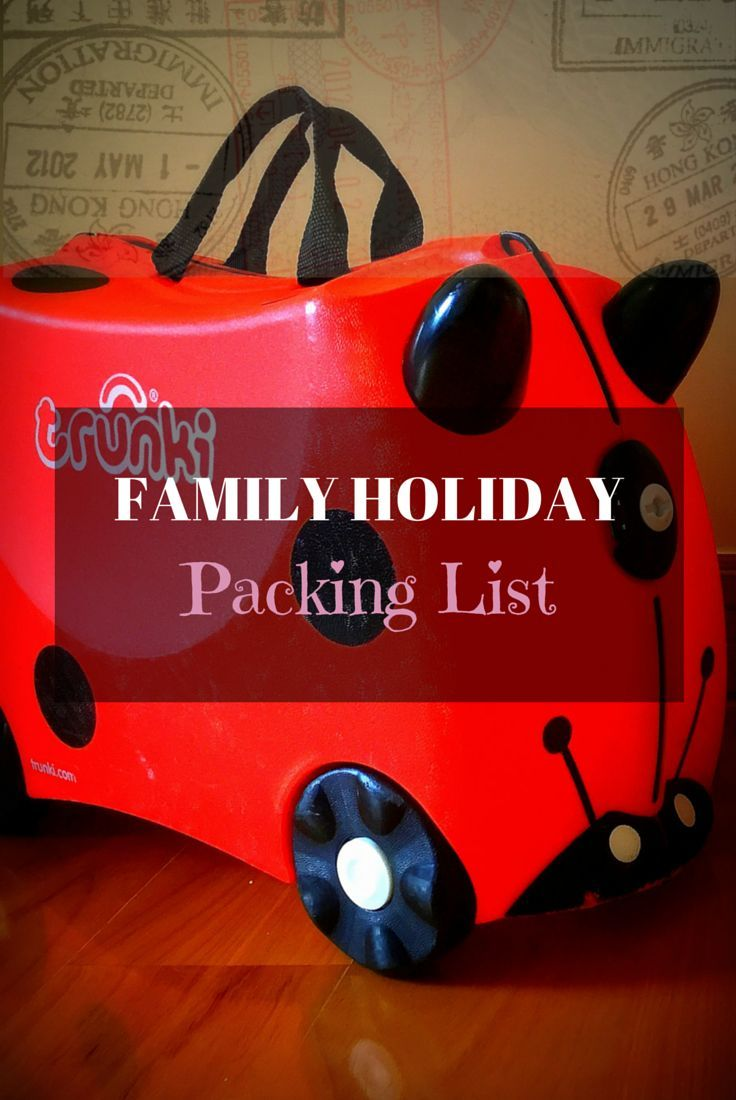 When you travel with kids, a comprehensive family packing list is essential. Here I share with you a printable copy of all the essentials on my packing list.