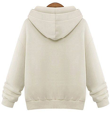 """Zukzi Women's Fashion Street Wear Pullover Fleeces Hoodie  Zukzi Women's Fashion Street Wear Pullover Fleeces Hoodie  Welcome to Zukzi. Women's pullover jacket with lined fleeces adjustable drawstring hood. Roomy pouch pockets. Ribbed cuffs and bottom band.    Size Chart    S : Bust: 37.0""""; Shoulder Width: 16.1""""; Sleeve Length: 22.8""""; Length: 25.9""""    M : Bust: 39.0""""; Shoulder Width: 16.5""""; Sleeve Length: 23.2""""; Length: 26.3""""    L : Bust: 42.0""""; Shoulder Width: 17.3""""; Sleeve Length: .."""