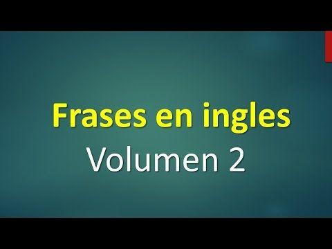 Frases básicas en inglés principiantes English Basic 2 - YouTube