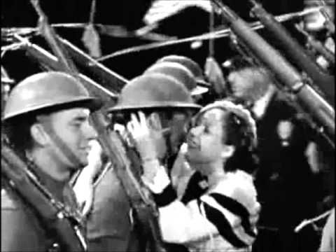"The Golddiggers-1933 after WWI and during the Great Depression It's about our soldiers.  ""The Forgotten Man"""
